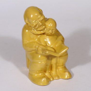 Kupittaan savi Aakkoset figuuri, keltainen, suunnittelija ,