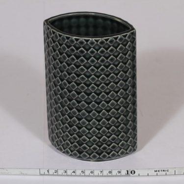 Arabia Harlekiini maljakko, turkoosi, suunnittelija ,  kuva 2