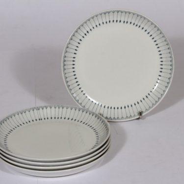 Arabia Heini lautaset, pieni, 5 kpl, suunnittelija , pieni, kuparipainokoriste