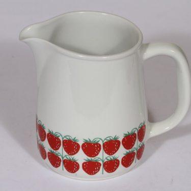 Arabia Pomona kaadin, mansikka, suunnittelija , mansikka, 1.2 l, serikuva, retro