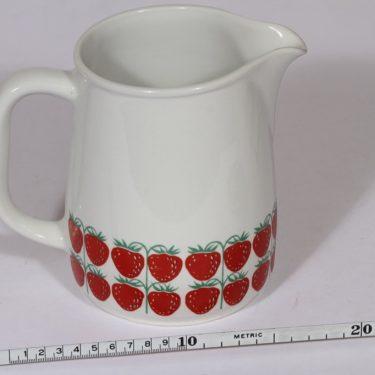 Arabia Pomona kaadin, mansikka, suunnittelija , mansikka, 1.2 l, serikuva, retro kuva 2