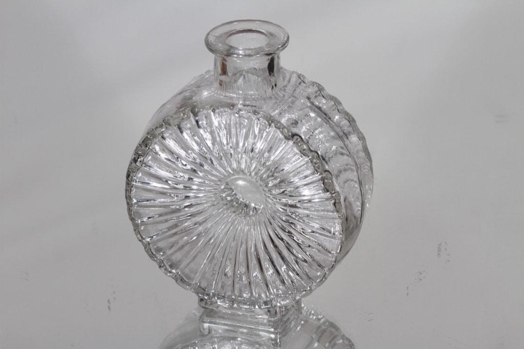 Riihimäen lasi Aurinkopullo koristepullo, koko ¼, suunnittelija Helena Tynell, koko ¼, pieni