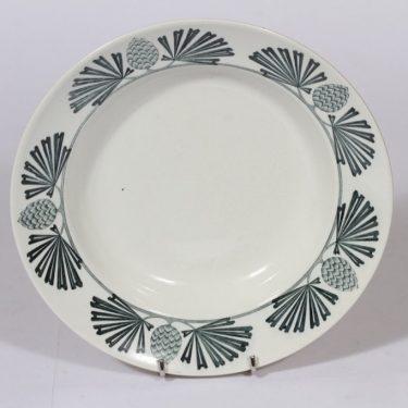 Arabia Tallkott lautanen, syvä, suunnittelija , syvä, kuparipainokoriste, jugend