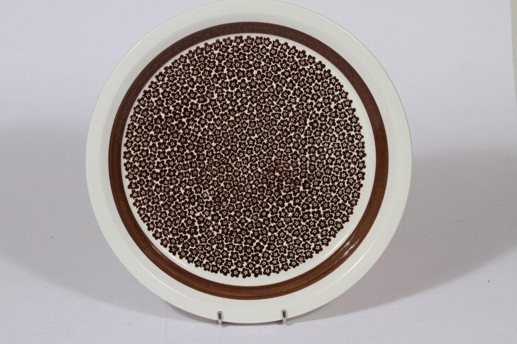Arabia Faenza vati, ruskea, suunnittelija , suuri, serikuva