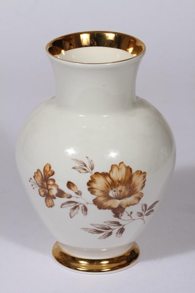 Arabia Myrna maljakko, suunnittelija , serikuva, kukka-aihe