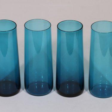 Riihimäen lasi Harlekiini mehulasit, 30 cl, 4 kpl, suunnittelija Nanny Still, 30 cl, pieni