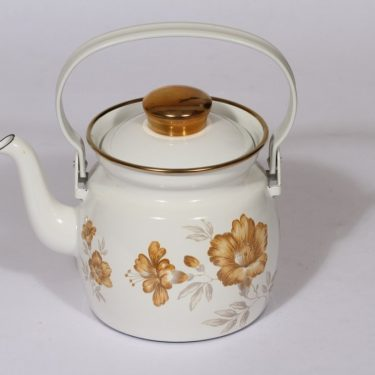 Finel Myrna kahvipannu, 1 l, suunnittelija , 1 l, serikuva, kukka-aihe
