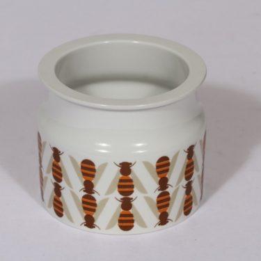 Arabia Pomona purnukka, hunaja, suunnittelija , hunaja, serikuva, retro