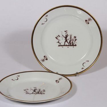 Arabia Diana lautaset, 2 kpl, suunnittelija , siirtokuva