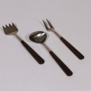 Hackman Triennale ottimet, pieni, 3 kpl, suunnittelija Bertel Gardberg, pieni