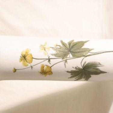 Arabia Kukka maljakko, käsinmaalattu, suunnittelija Hilkka-Liisa Ahola, käsinmaalattu, signeerattu