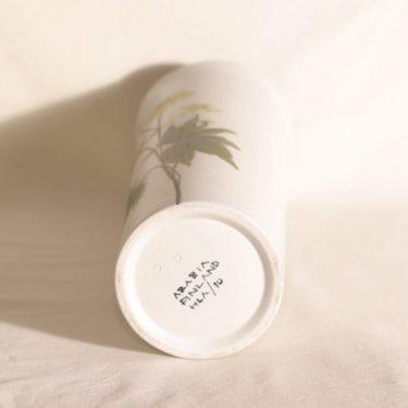 Arabia Kukka maljakko, käsinmaalattu, suunnittelija Hilkka-Liisa Ahola, käsinmaalattu, signeerattu kuva 2