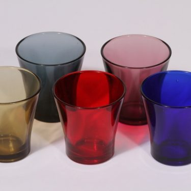 Riihimäen lasi juomalasit, 15 cl, 5 kpl, suunnittelija , 15 cl