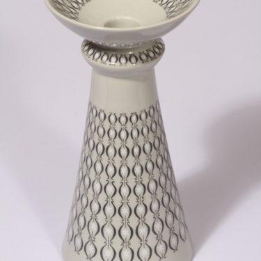Arabia LG kynttilänjalka, harmaa, suunnittelija , serikuva