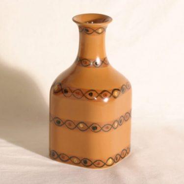 Arabia Colora maljakko, käsinmaalattu, suunnittelija Hilkka-Liisa Ahola, käsinmaalattu, signeerattu