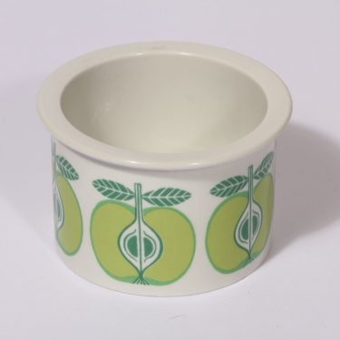 Arabia Pomona purnukka, omena, suunnittelija , omena, serikuva, retro