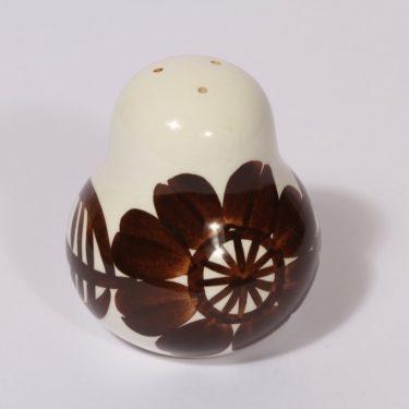 Arabia Köökki maustesirotin, ruskea, suunnittelija , käsinmaalattu, signeerattu