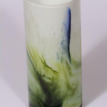 Riihimäen lasi Koralli maljakko, suuri, suunnittelija Tamara Aladin, suuri, opaaliverho kuva 2