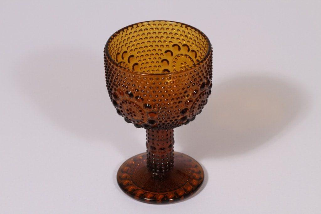 Riihimäen lasi Grapponia viinilasi, 15 cl, suunnittelija Nanny Still, 15 cl