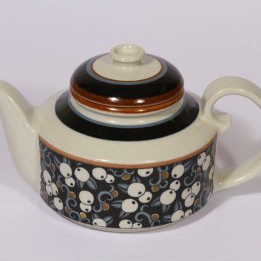 Arabia Taika teekaadin, 1 l, suunnittelija , 1 l, erikoiskoriste, retro
