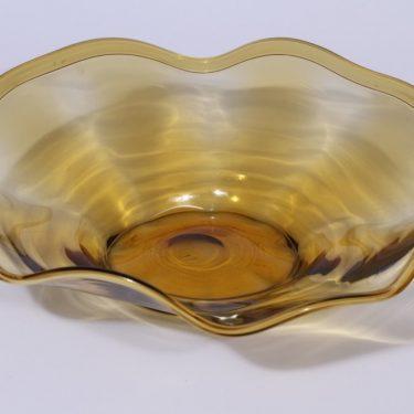 Kauklahden lasi malja, ruskea, suunnittelija ,