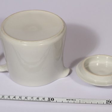 Arabia Kilta kaadin, valkoinen, suunnittelija , 0.5 l, kannellinen kuva 3