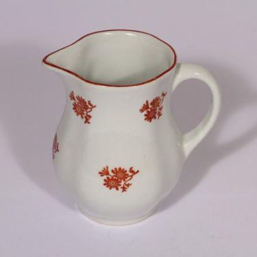 Arabia IO kaadin, kukkakuvio, suunnittelija , kukkakuvio, 0.25 l, pieni, siirtokuva