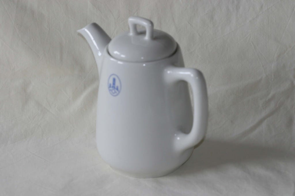 Arabia G 4 coffee jug, 1 l, logo decoration, made to order