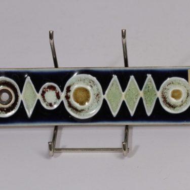 Arabia Ornamentti koristelaatta, suunnittelija , pieni, käsinmaalattu, signeerattu