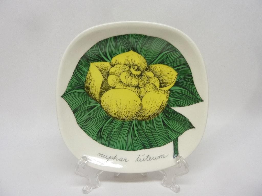 Arabia Botanica koristelautanen, Isoulpukka, suunnittelija , Isoulpukka, pieni, serikuva