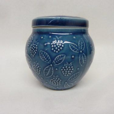Arabia rasia, suunnittelija , pieni, sininen lasite