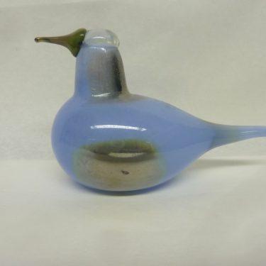 Nuutajärvi glass bird, Taivaankuovi, designer Oiva Toikka, small, luster