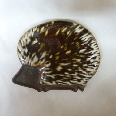 Arabia Siili koristelaatta, suunnittelija , pieni, käsinmaalattu, signeerattu
