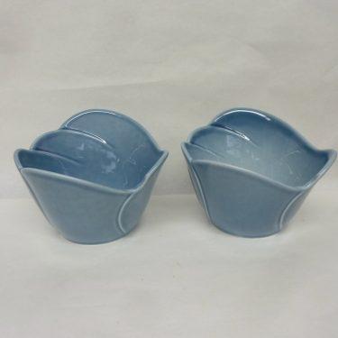 Arabia Tuuli annoskulhot, 2 kpl, suunnittelija , sininen