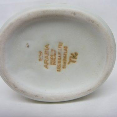Arabia maljakko, suunnittelija Taisto Kaasinen, pieni, käsinmaalattu kuva 2