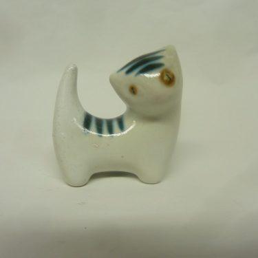 Arabia figuuri, suunnittelija , pieni, kissa-aihe, käsinmaalattu