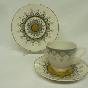 Arabia Katinka kahvikupit, suunnittelija Hilkka-Liisa Ahola,