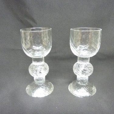Iittala Ritari lasit, 9 Cl, 2 kpl, suunnittelija Timo Sarpaneva, 9 Cl