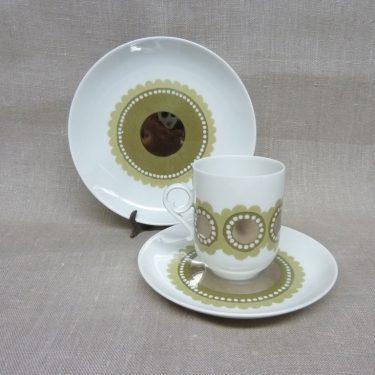 Arabia Tanja kahvikuppi, suunnittelija Esteri Tomula, käsinmaalattu