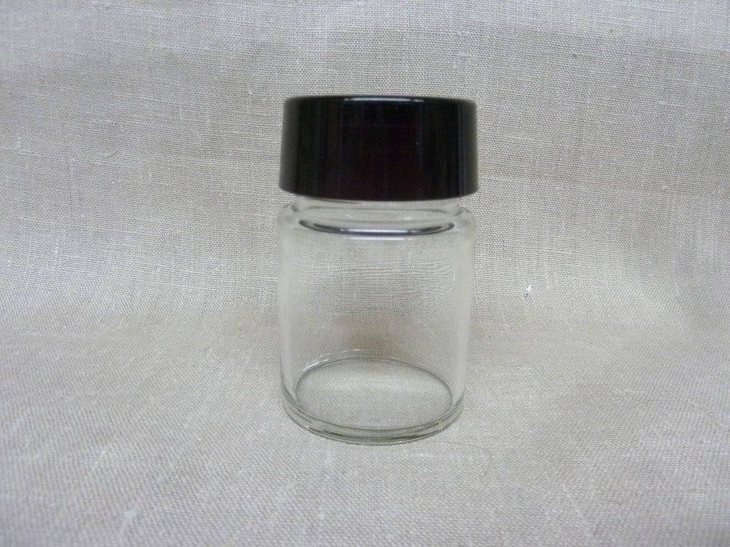 Riihimäen lasi maustepurkki, tumma lila, suunnittelija Saara Hopea, lasinen, korkki
