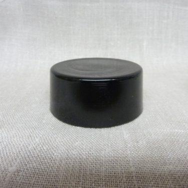 Riihimäen lasi maustepurkki, tumma lila, suunnittelija Saara Hopea, lasinen, korkki kuva 2