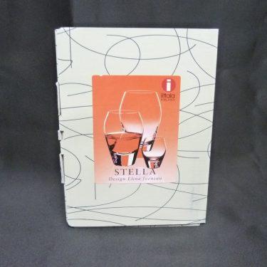 Iittala Stella lasit, 25 cl, suunnittelija Elina Joensuuu, 25 cl
