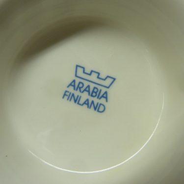 Arabia Sininen keittiö teekuppi, Isän Kuppi, suunnittelija Raija Uosikkinen, Isän Kuppi, painokoriste kuva 2