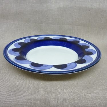 Arabia Paju plate, deep, hand-painted