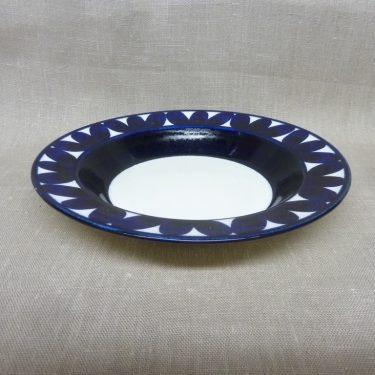 Arabia Sotka lautanen, suunnittelija , syvä, käsinmaalattu