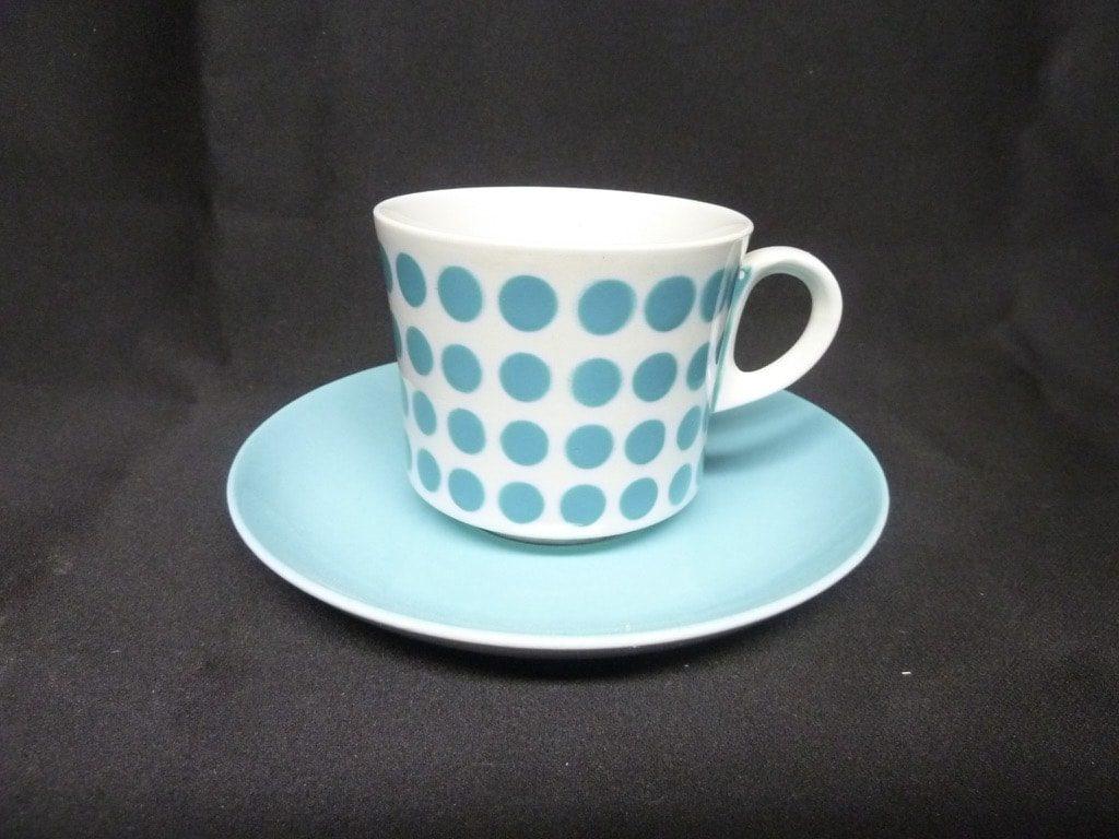 Arabia Pop kahvikuppi, vaaleansininen, suunnittelija , puhalluskoriste, retro