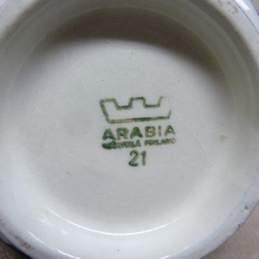 Arabia Sotka jälkiruokakulho, 3 kpl, suunnittelija Raija Uosikkinen, käsinmaalattu kuva 3
