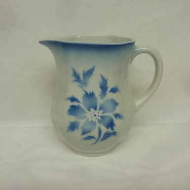 Arabia Aster jug, 1 l, blown decoration, blue