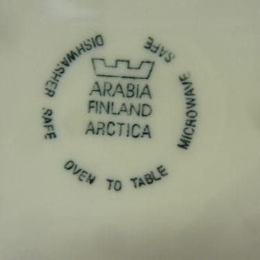 Arabia Arctica Poetica kastikekaadin, suunnittelija Dorrit von Fieandt, serikuva, kukka-aihe kuva 3