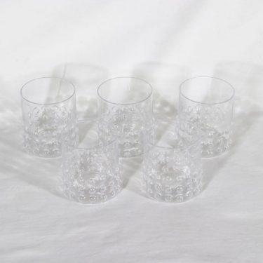 Riihimäen lasi Grappo lasit, 18 cl, 5 kpl, suunnittelija Nanny Still, 18 cl